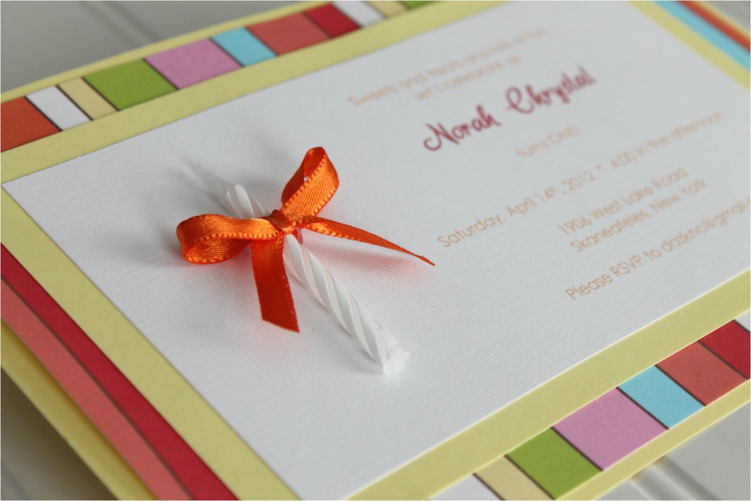 homemade birthday invitation ideas