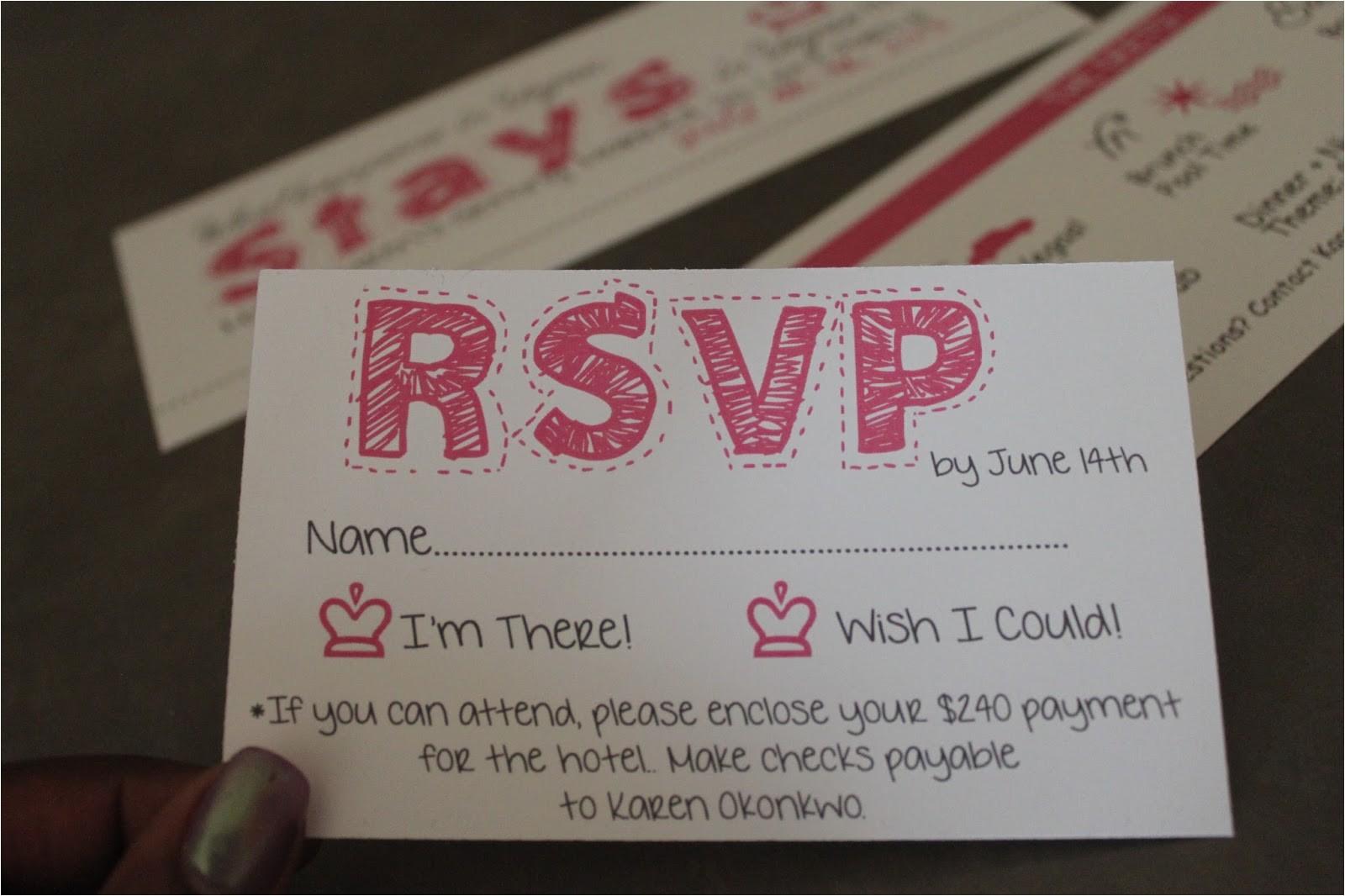 diy bachelorette party invites