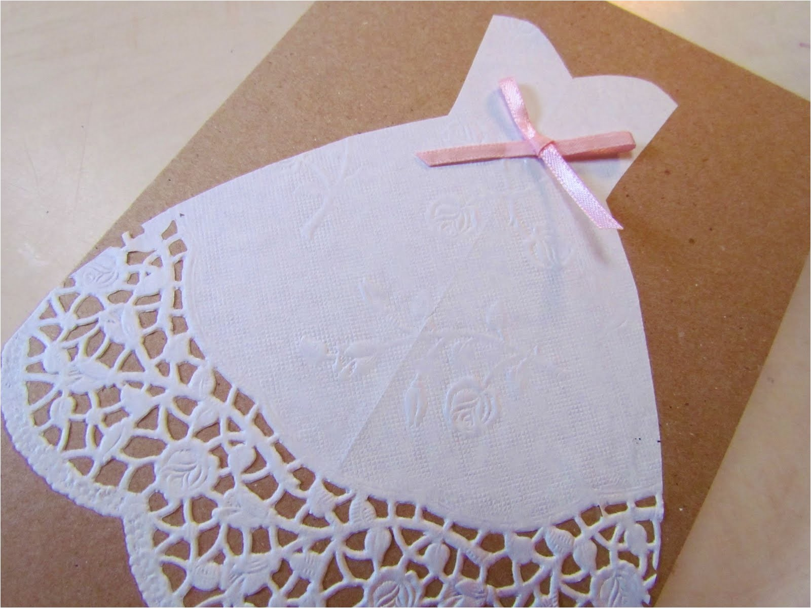 wedding card diy
