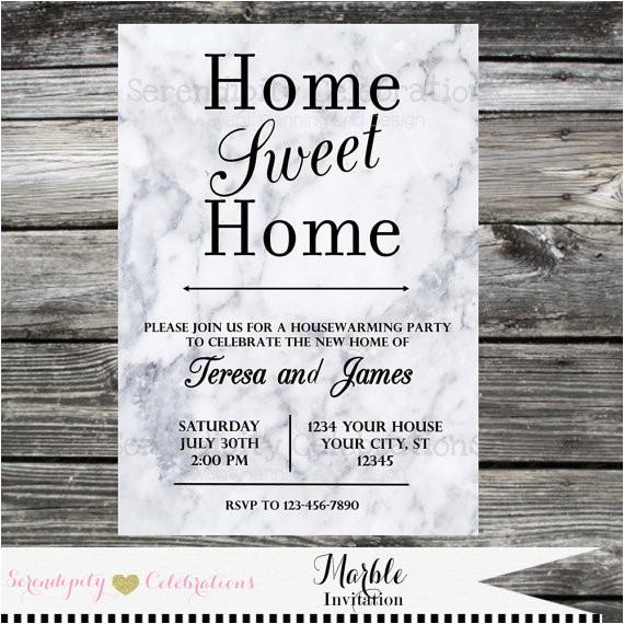 housewarming invitation baby shower invite bridal