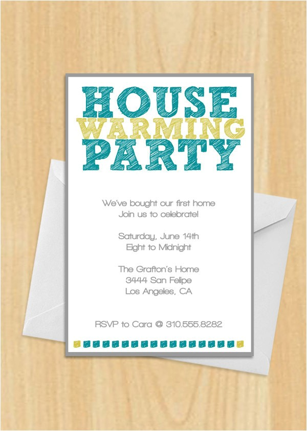 housewarming invite wording