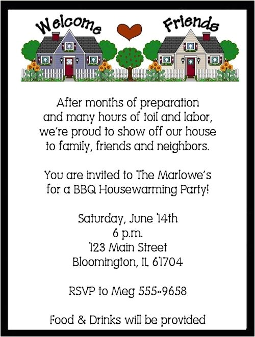 Housewarming Party Invitation Wording Housewarming Party Invitation Wording