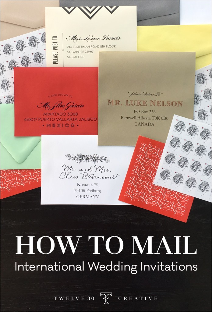 how far in advance should i mail wedding shower invitations