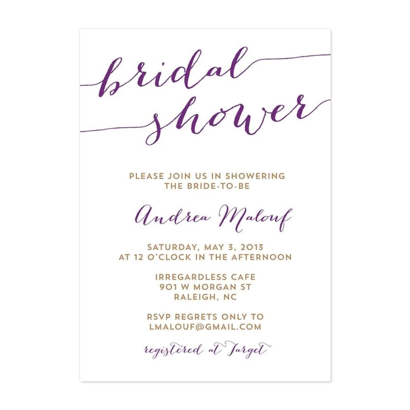 How to Include Registry In Bridal Shower Invitation Bridal Shower Wording 99 Wedding Ideas