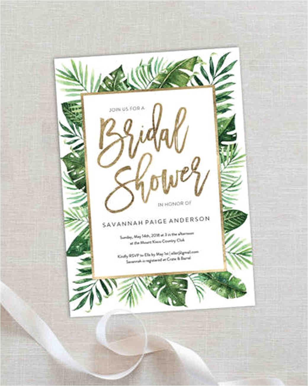 affordable printable bridal shower invitations