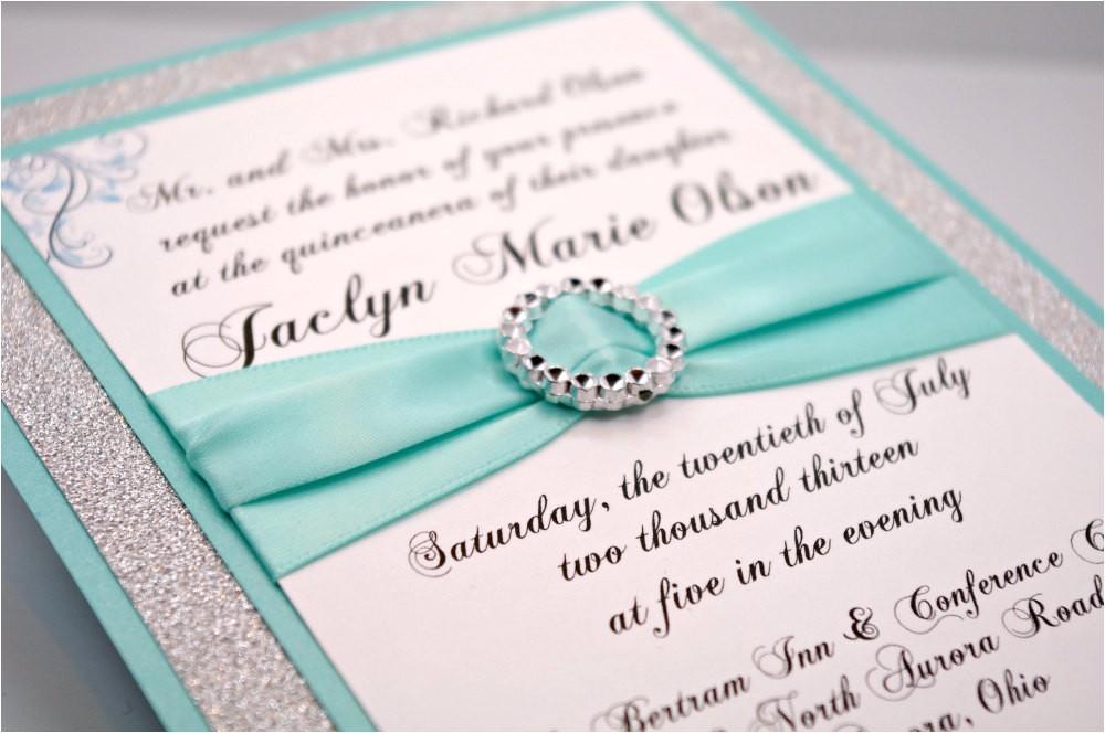 diy aquatiffany blue wedding