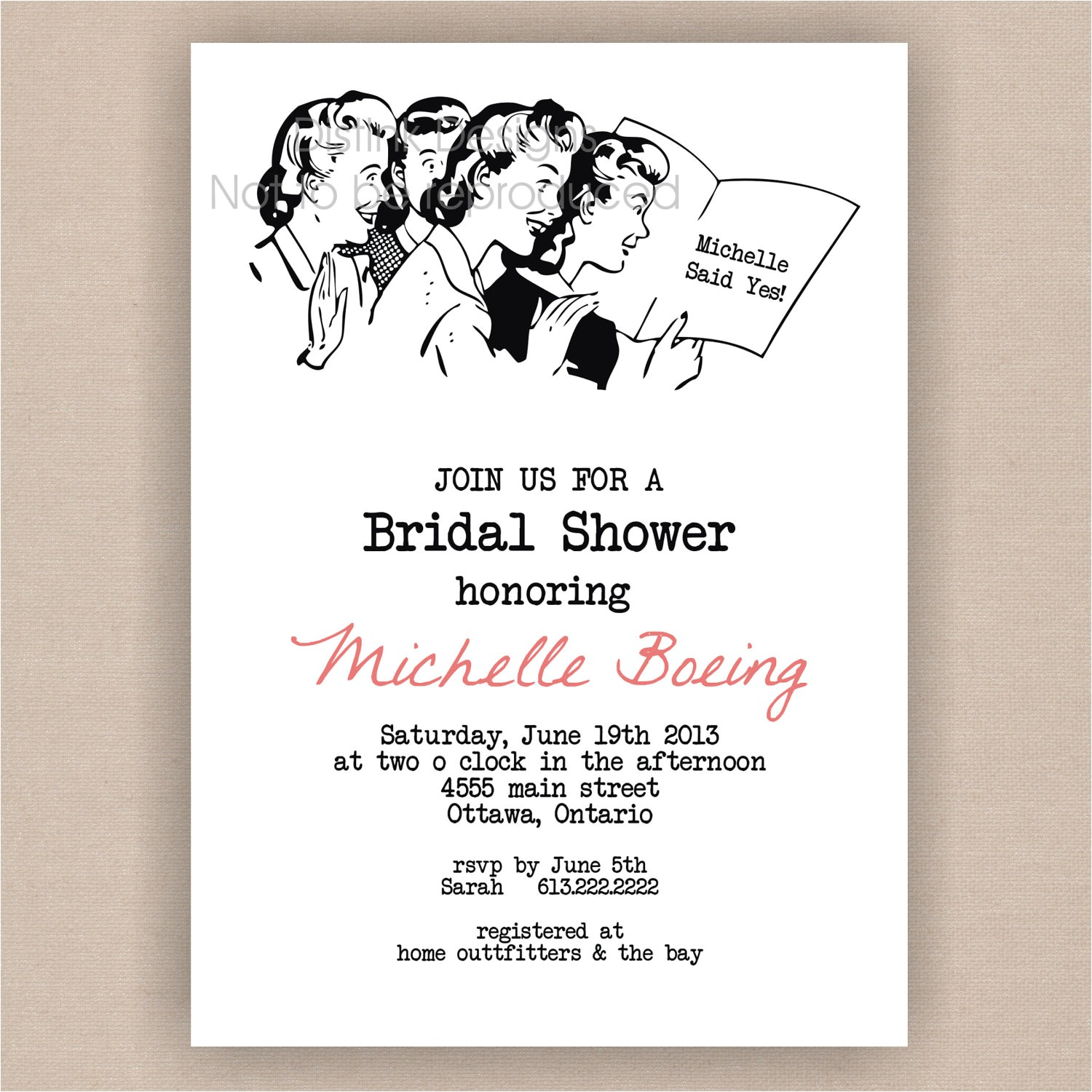 target bridal shower invitations template