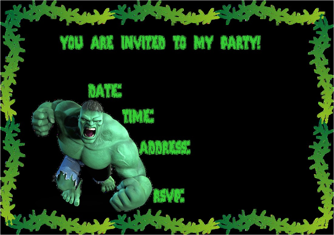 ideias para festa infantil incrivel hulk