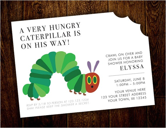 hungry caterpillar baby shower