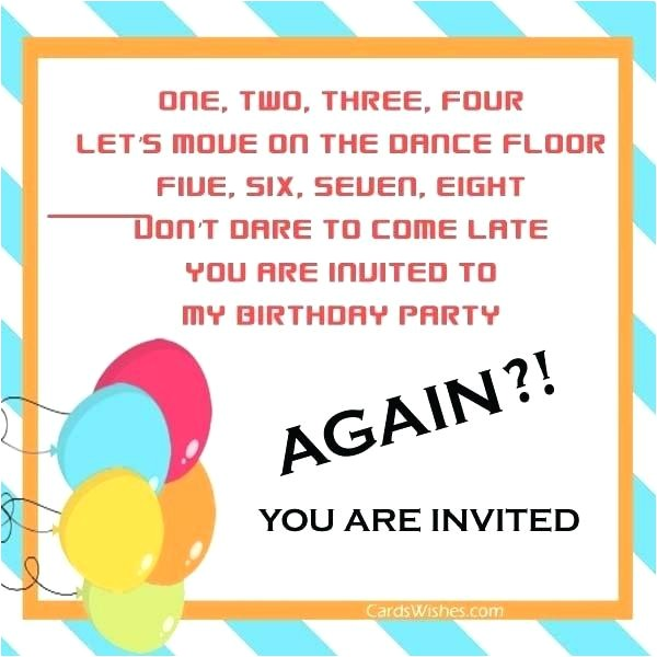 I Would Like to Invite You to My Birthday Party Party Invite Email April Onthemarch Co