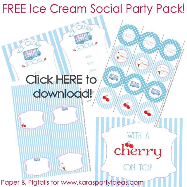 free ice cream party