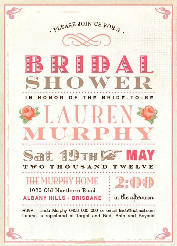 wedding planning ideas 25 awesome bridal shower invitation designs