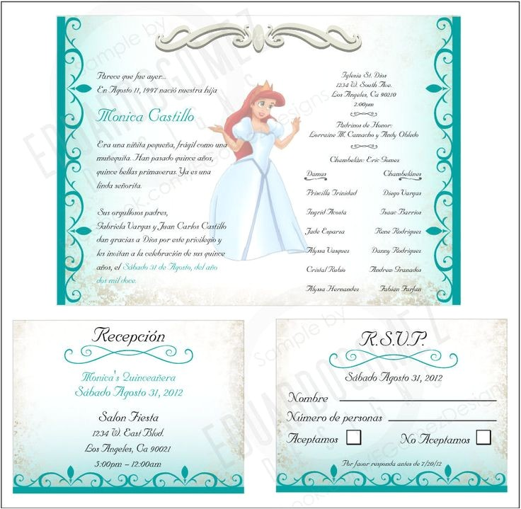 quinceanera invitation ideas