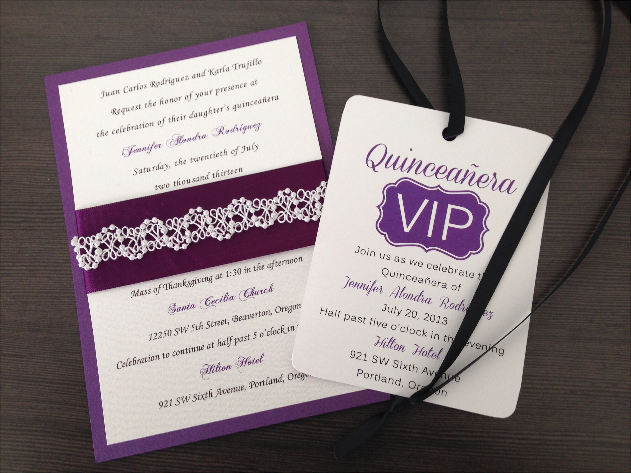 quinceanera invitations ideas
