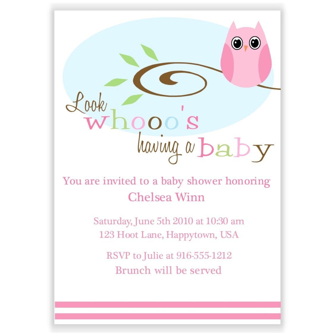 inexpensive baby shower invitations girl