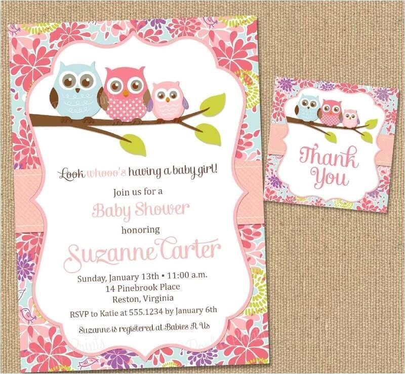 checklist of cute cheap baby shower invitations