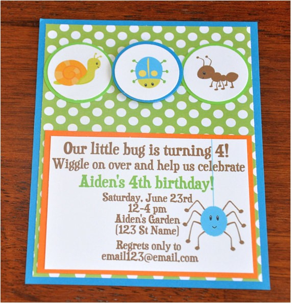 bug invitationsinsect invites bug party