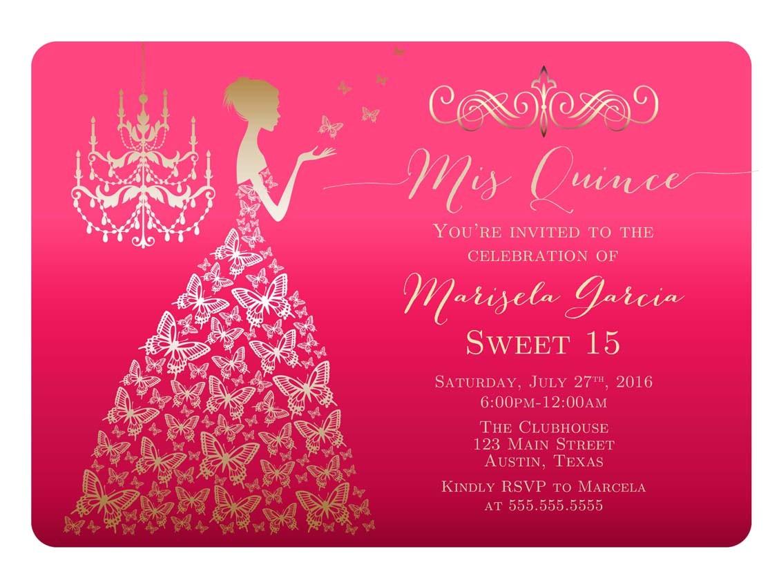 quinceanera invitations hd invitation card portal