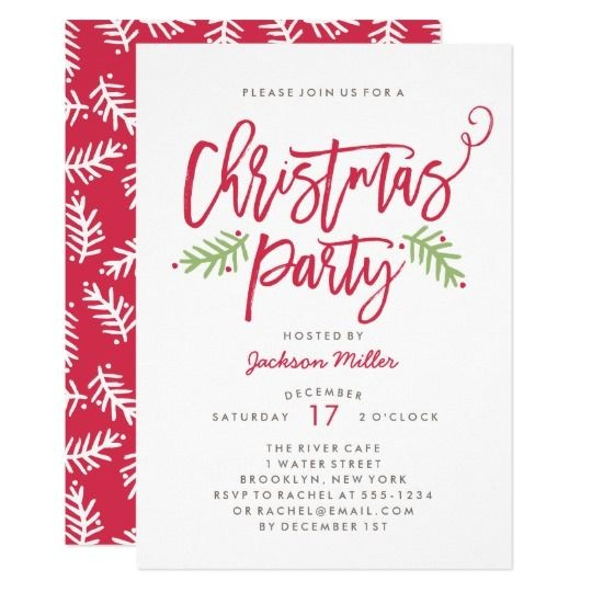 Invitation for A Christmas Party 550 Best Christmas Holiday Party Invitations Images On