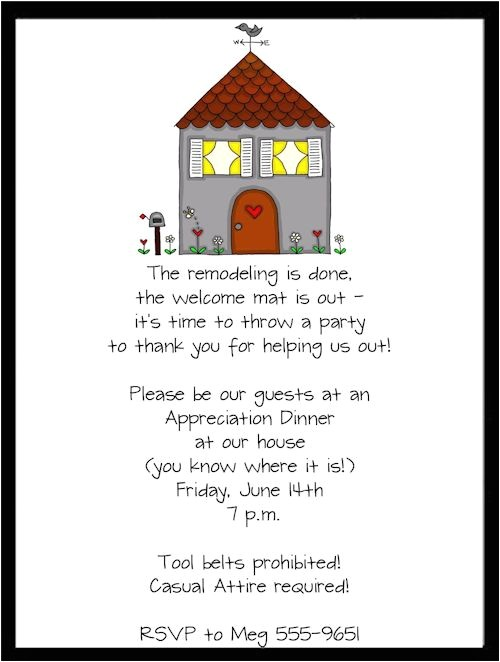 housewarming party invitation wording