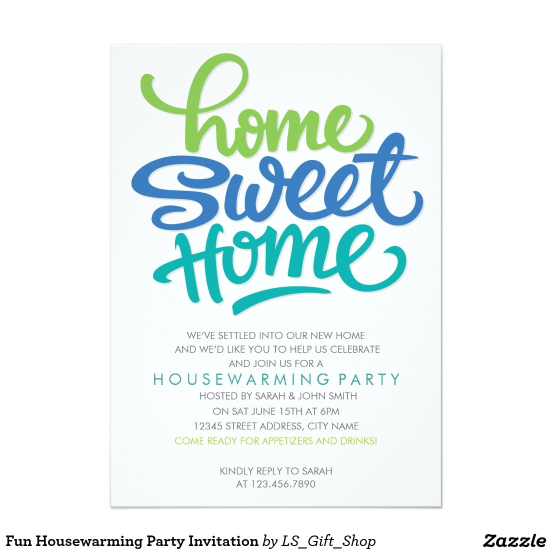 house warming party invitations
