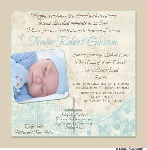 soft christening or holy baptism invitation