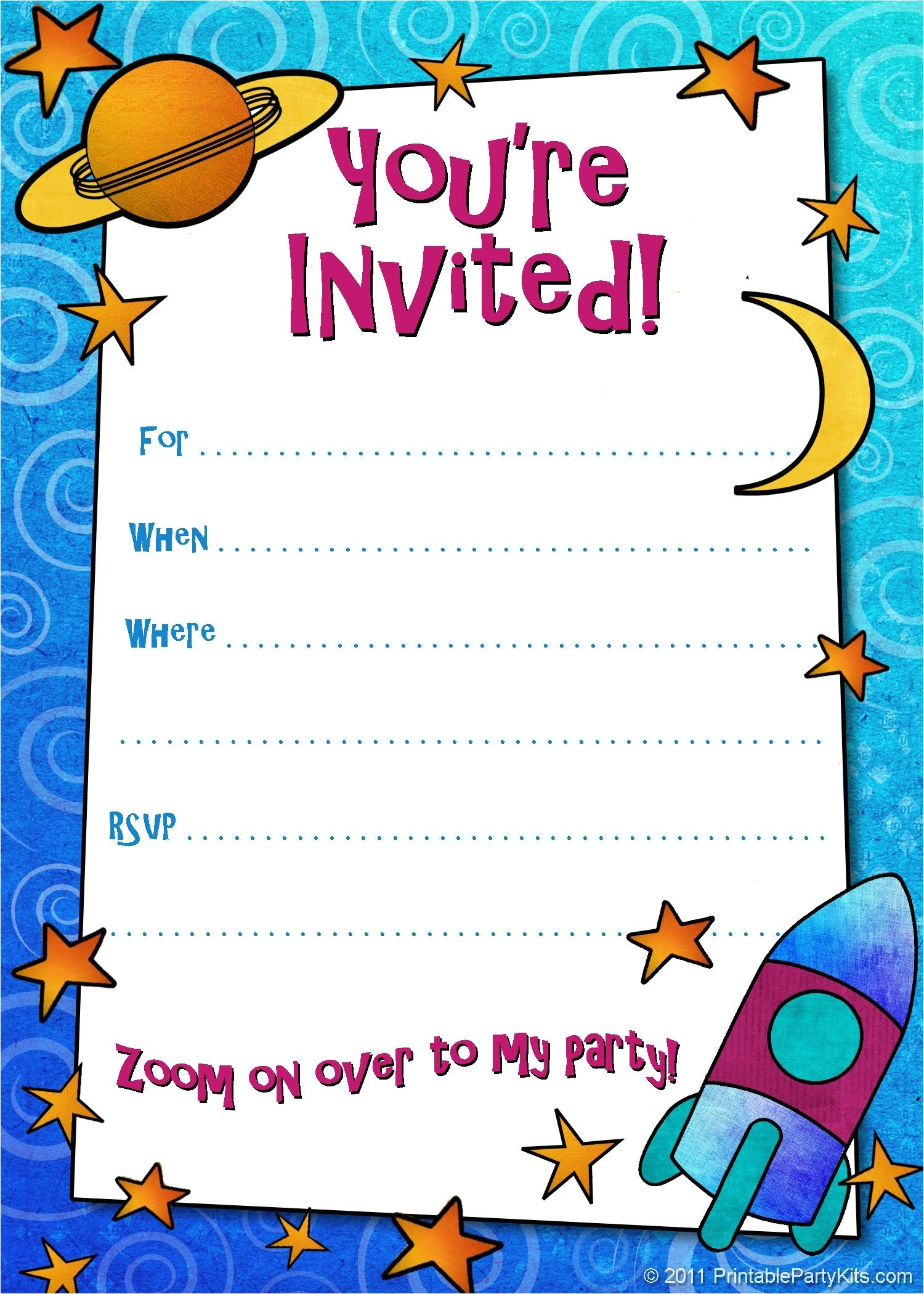 invitation for birthday sms