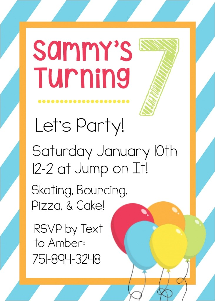 Invitation Templates for Birthday Free Printable Birthday Invitation Templates