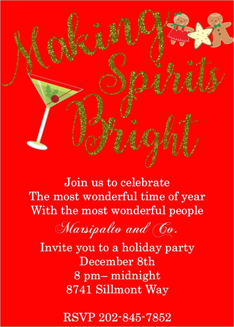 Invitation to the Christmas Party Pany Christmas Party Invitations New Selection for 2017