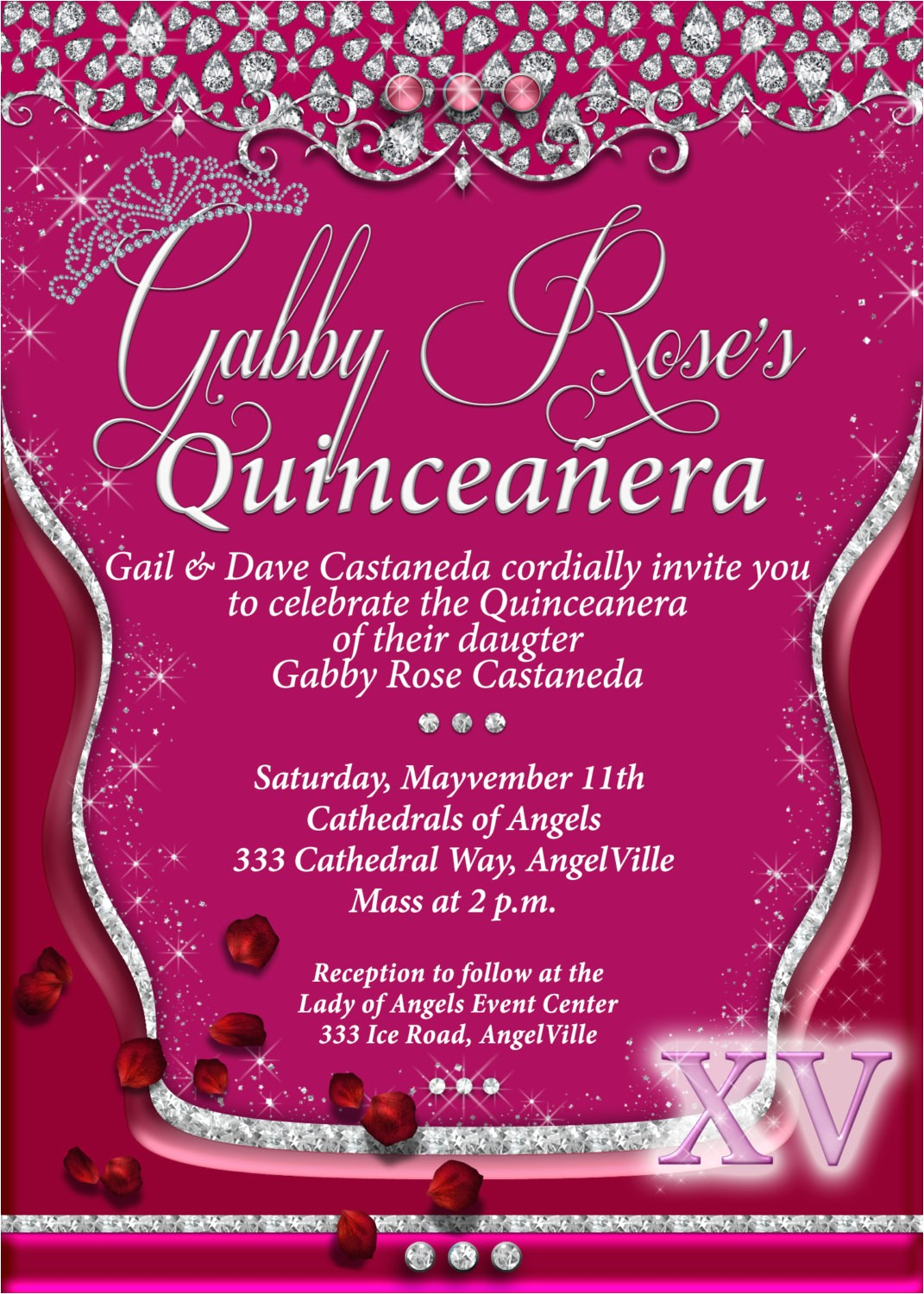 quinceanera quinceanera invitations