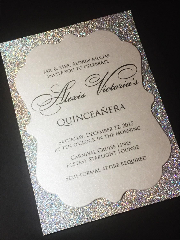 quinceanera invitation sweet 16