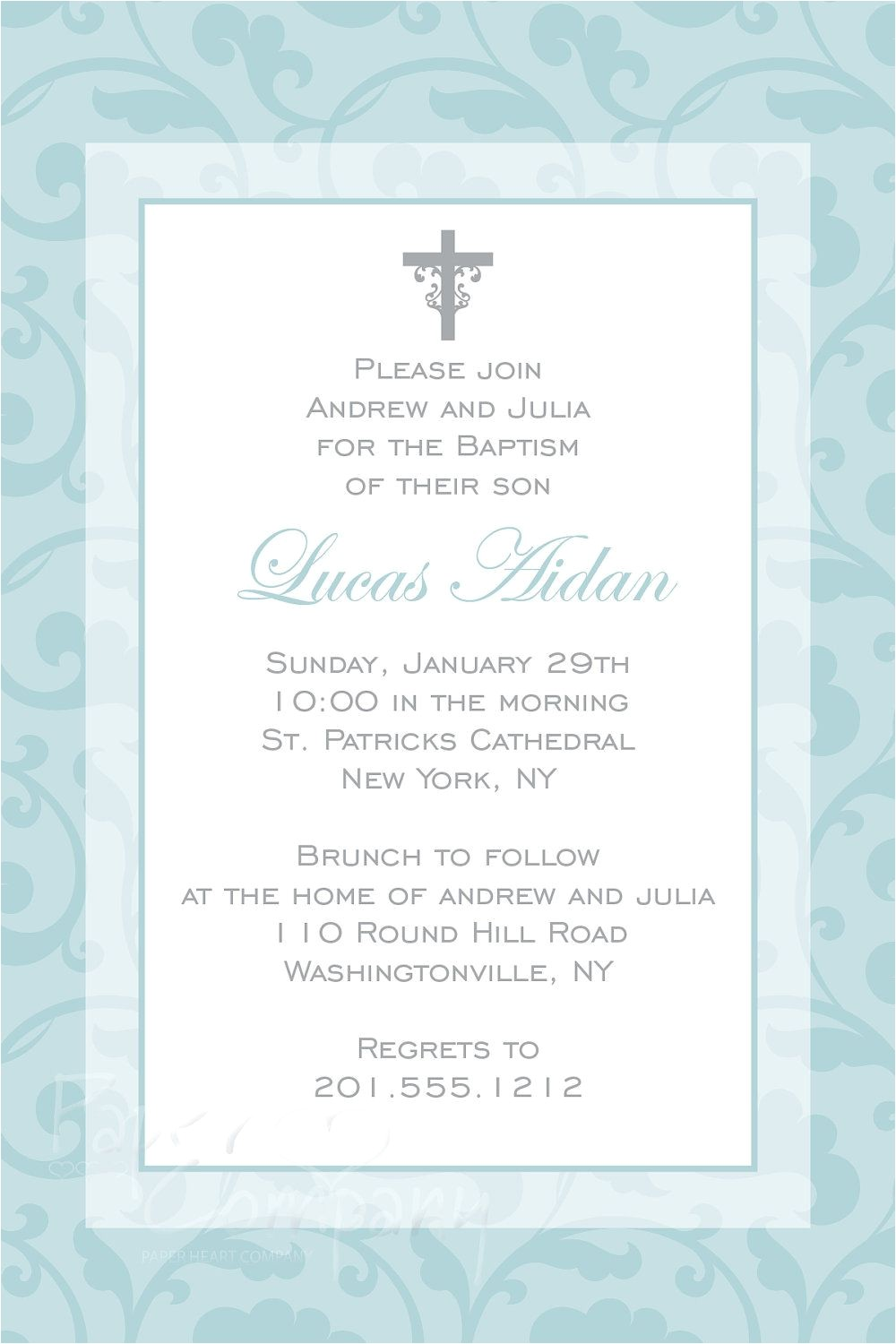 Invitations for Baptism Catholic Catholic Baptism Invitations Catholic Baptism Invitation