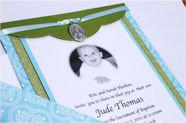 catholic baptism invitations template