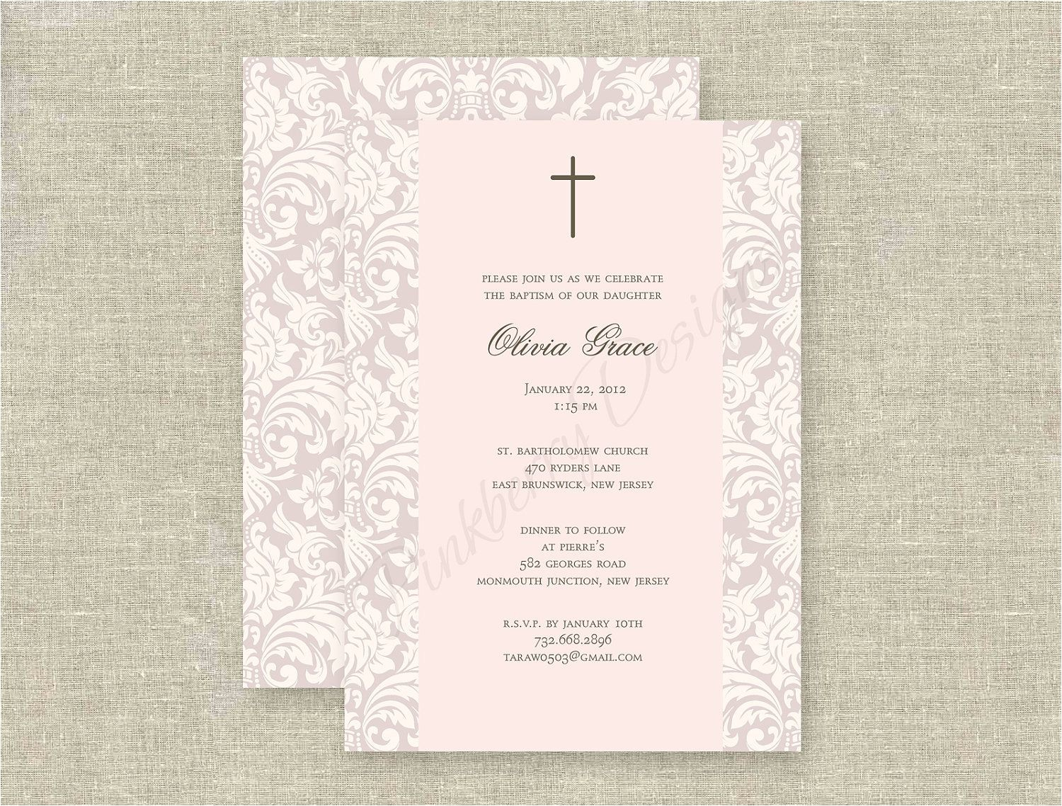 Invitations for Baptism In Spanish Baptism Invitations In Spanish Baptism Invitations In