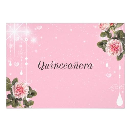 Invitations for Quinceanera Cheap Quinceanera Invitation