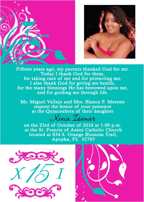 quinceanera invitations cheap