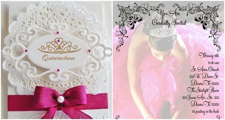 a cheat sheet for you quinceanera invitation wording