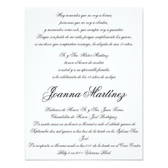 quinceanera invitations in spanish 4 25 x 5 5 256246608170057572