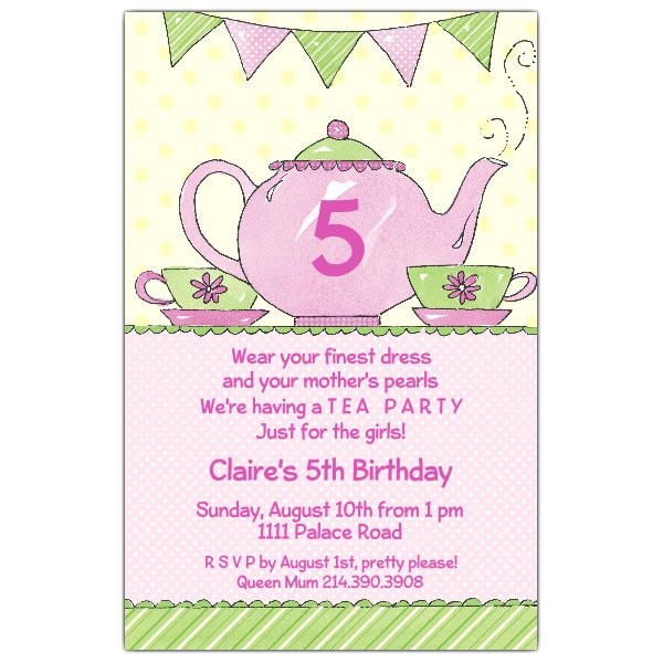 evangelines tea party