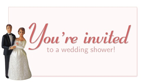 you re invited to a wedding shower