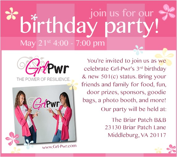 invitation for birthday party to your friend