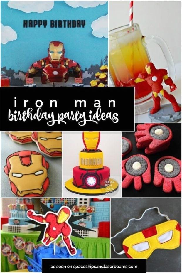 13 iron man party ideas
