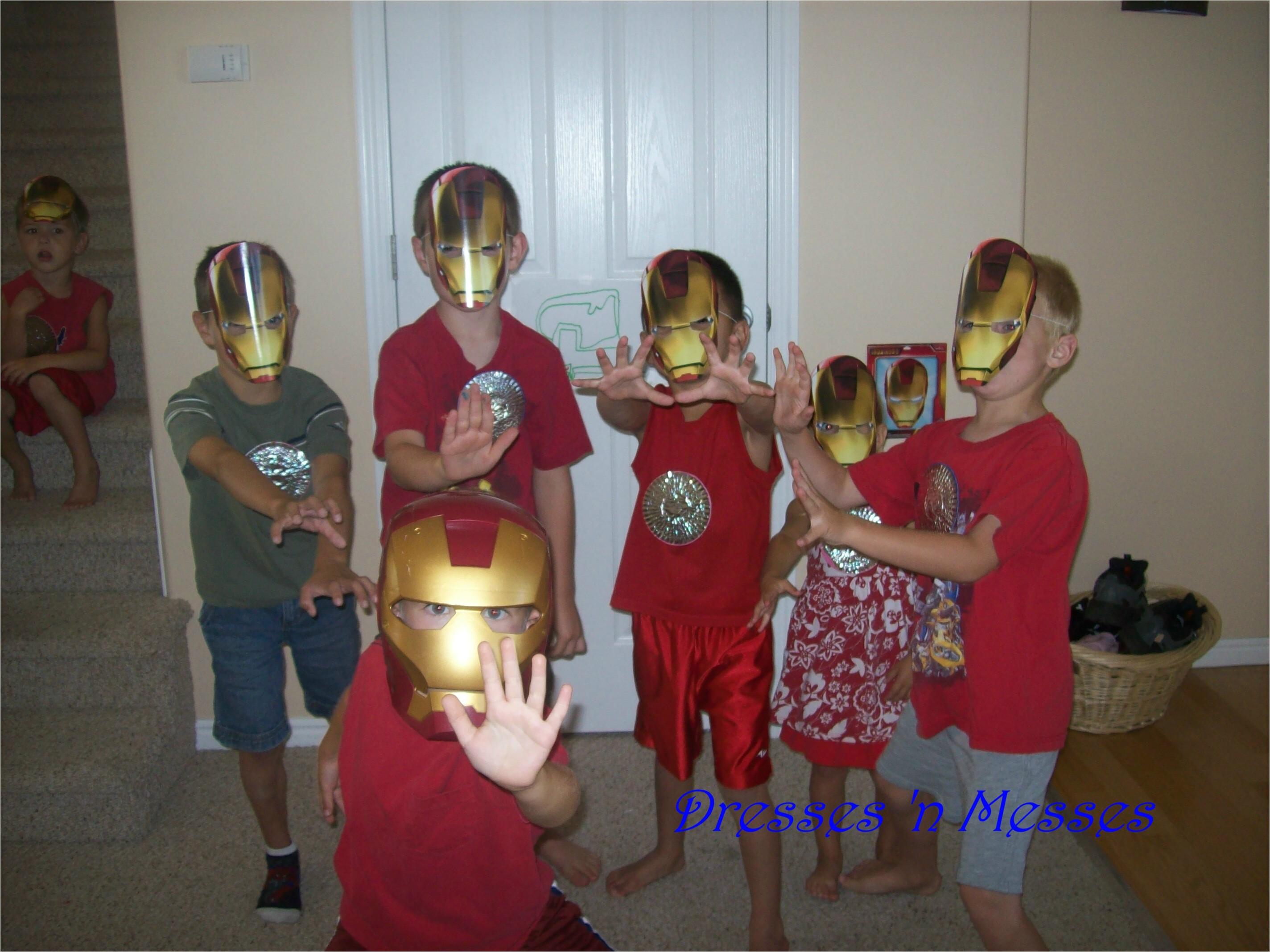 birthday ideas iron man party