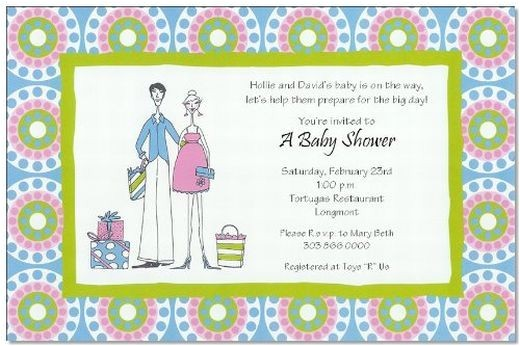 jack and jill baby shower invitation wording