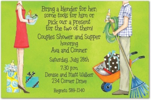 bridal shower invitations jack and jill