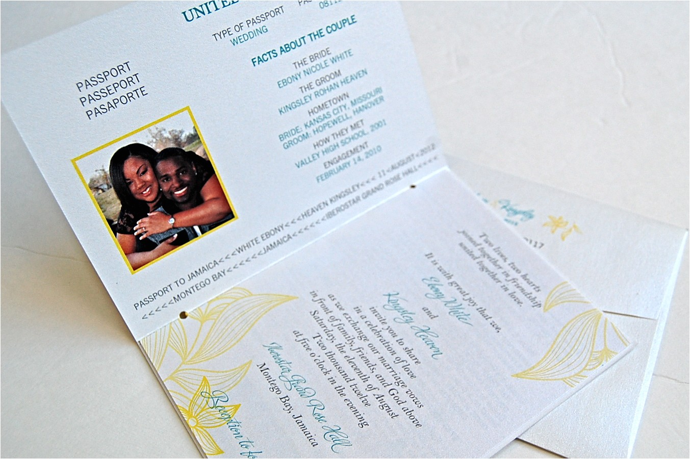 jamaican bridal shower invitations
