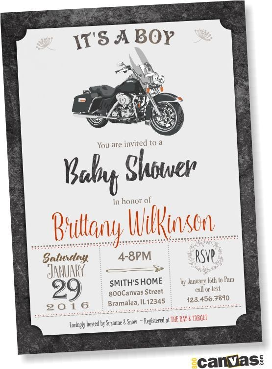 jeep baby shower invitations