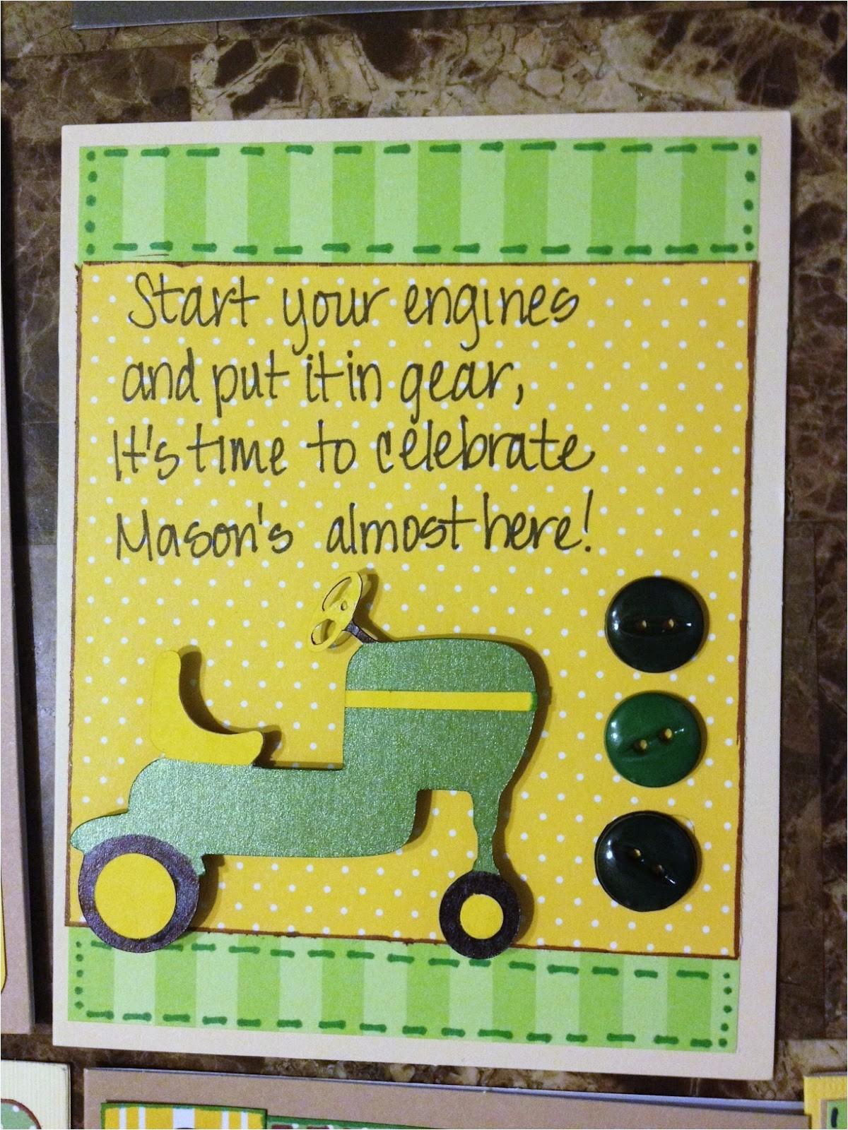 John Deere Baby Shower Invites Lmcreations She Cave John Deere Baby Shower Invitations