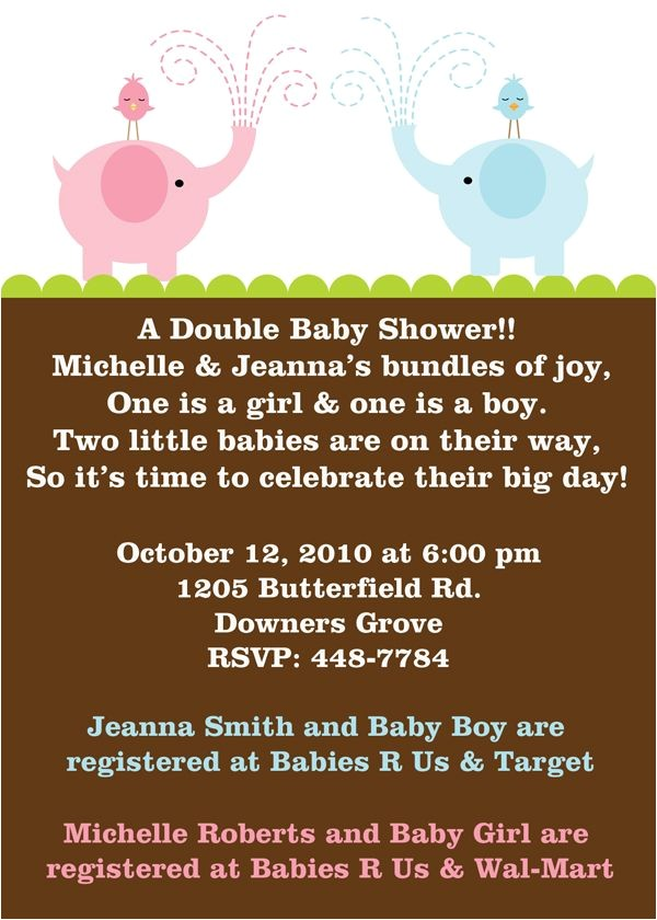 joint baby showers