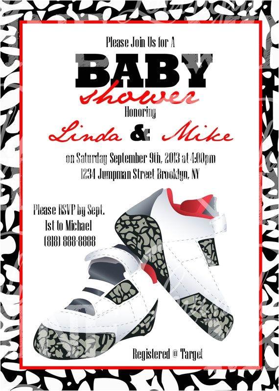 ashleys jordan inspired baby shower theme